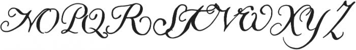 Liesel Icons Printed Regular otf (400) Font UPPERCASE