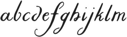 Liesel Icons Printed Regular otf (400) Font LOWERCASE