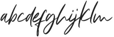 Light Heart otf (300) Font LOWERCASE