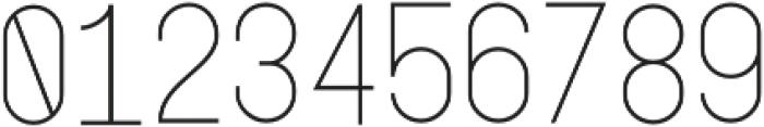 Lightbox Regular otf (300) Font OTHER CHARS