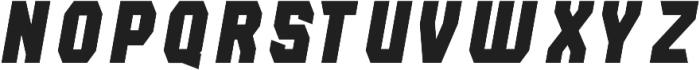 Lightening Bold Italic otf (300) Font LOWERCASE