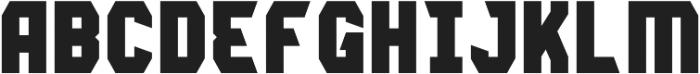 Lightening Bold otf (300) Font LOWERCASE