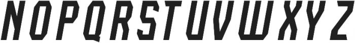Lightening Light Italic otf (300) Font UPPERCASE