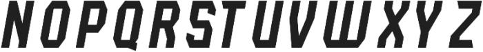 Lightening Light Italic otf (300) Font LOWERCASE