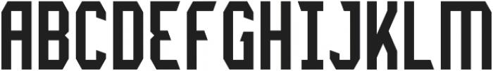 Lightening Light otf (300) Font UPPERCASE