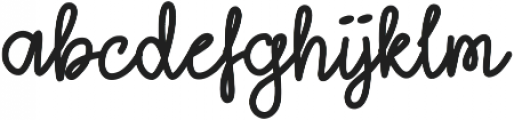 Lightheart Script Regular otf (300) Font UPPERCASE