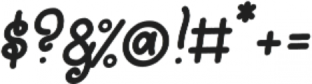 Lightheart Script otf (300) Font OTHER CHARS