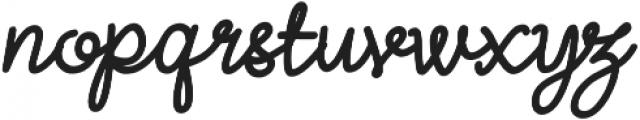 Lightheart Script otf (300) Font UPPERCASE