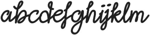 Lightheart Script otf (300) Font LOWERCASE