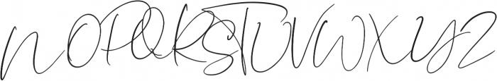 Lightheartedly otf (300) Font UPPERCASE