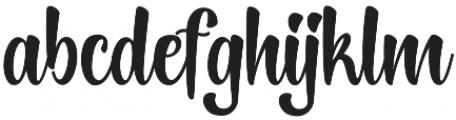 Lightning Script Update Regular otf (300) Font LOWERCASE