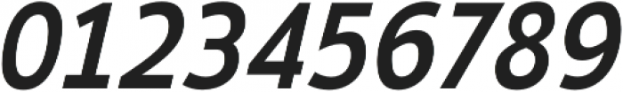 Ligurino Regular Italic otf (400) Font OTHER CHARS