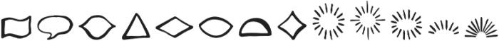 Likely Shapes otf (400) Font UPPERCASE