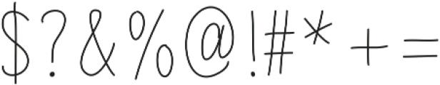 LikelyStory Caps by Kestrel Mon otf (400) Font OTHER CHARS