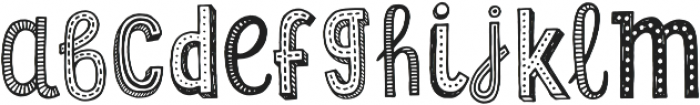 Lil Rebel Sketch Alt otf (400) Font LOWERCASE