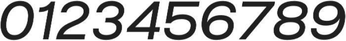 Liliana SemiBold Italic otf (600) Font OTHER CHARS