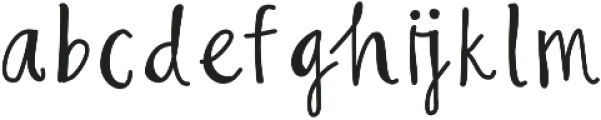 LillyMarker ttf (400) Font LOWERCASE