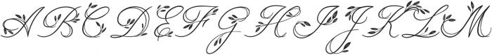 Limerence Regular otf (400) Font UPPERCASE