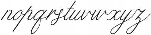 Limerence Thin otf (100) Font LOWERCASE