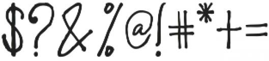 Limpoke Font otf (400) Font OTHER CHARS