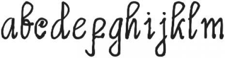 Limpoke Font otf (400) Font LOWERCASE