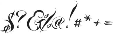Lina Script Alt Pro otf (400) Font OTHER CHARS