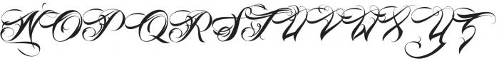 Lina Script Alt Pro otf (400) Font UPPERCASE