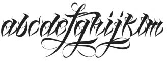 Lina Script Alt Pro otf (400) Font LOWERCASE