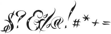 Lina Script Dot Alt Pro otf (400) Font OTHER CHARS