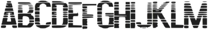 Lined_Font otf (400) Font UPPERCASE