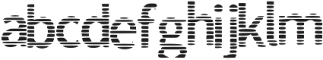 Lined_Font otf (400) Font LOWERCASE