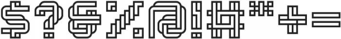 Linee Regular otf (400) Font OTHER CHARS