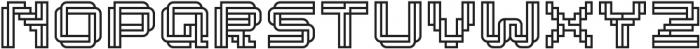 Linee Regular otf (400) Font LOWERCASE