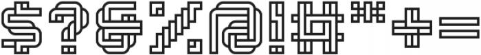 Linee Regular ttf (400) Font OTHER CHARS