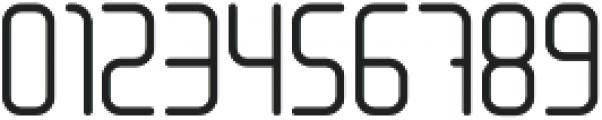 LinerNormal Regular otf (400) Font OTHER CHARS
