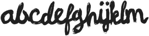 Linger On ttf (400) Font LOWERCASE