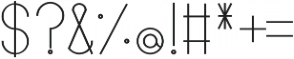 Linlegrey otf (600) Font OTHER CHARS