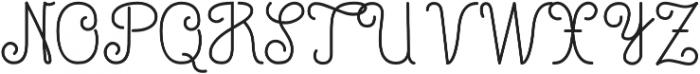LinoLinoScriptTT otf (400) Font UPPERCASE