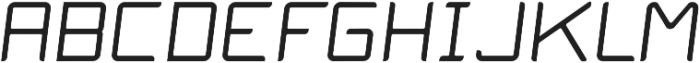 Lion Sans ttf (400) Font UPPERCASE