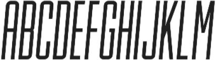 Lion and Hare Light Italic otf (300) Font UPPERCASE