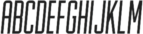 Lion and Hare Light Italic otf (300) Font LOWERCASE