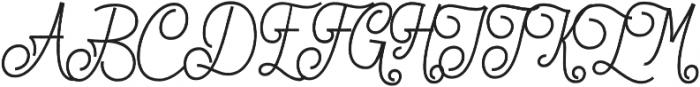 Lionettes otf (400) Font UPPERCASE