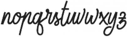 Lionettes otf (400) Font LOWERCASE