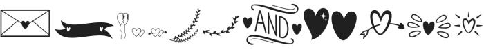 Liontine Extras Regular otf (400) Font UPPERCASE