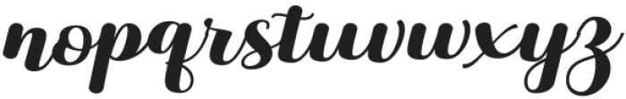 Liontine Script Regular otf (400) Font LOWERCASE
