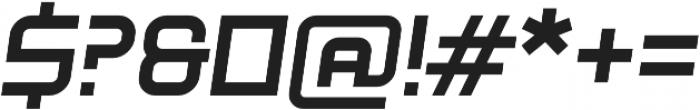Litespeed Bold Italic otf (700) Font OTHER CHARS