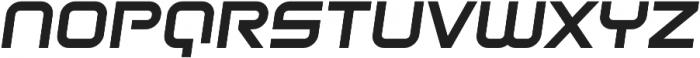 Litespeed Bold Italic otf (700) Font LOWERCASE