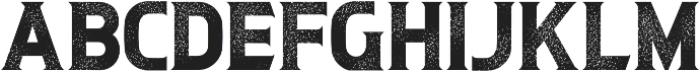 Litograph Aged ttf (400) Font UPPERCASE