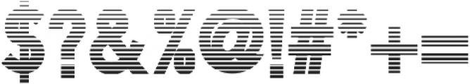 Litograph Stripe otf (400) Font OTHER CHARS