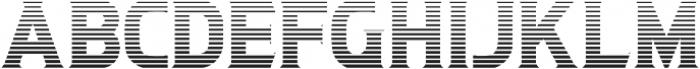 Litograph Stripe otf (400) Font LOWERCASE